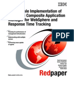 Large-Scale Implementation of IBM Tivoli Composite Application Manager for WebSphere and Response Time Tracking Redp4162