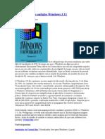 Virtualizando o antigão Windows