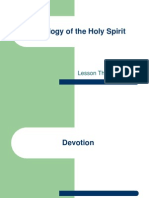 Theology of the Holy Spirit - Lesson 3