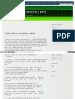 Desenvolverpenis Blogs Sapo Pt 274 HTML