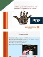 Presupuesto Participativo en Porto Alegre - Análisis Banco Mundial