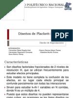 Disenos de Plackett-Burman