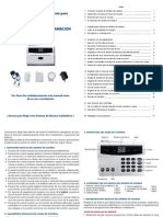 Alarma SG. Manual