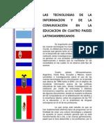 Las tecnologías de la información y de la comunicación en la educación en cuatro países latinoamericanos