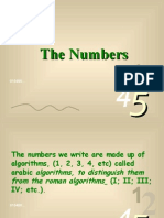 Numbers 0 9 1