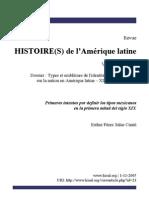 Tipos Mexicanos en La Primera Mitad Del Siglo XIX