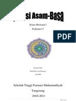 Kimia Medisinal Titrasi Asam