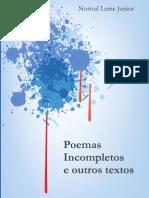 Livro Poemas Incompletos
