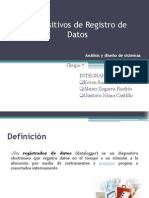 Dispostivos de Registro de Datos