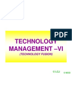 15. Technology Management _vi (Technology Fusion)