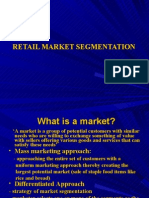 chapter 5 Retail Market Segmentation-Retail Management
