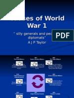 Causes of World War 1