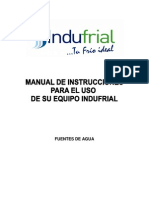 Manual Fuentes de Agua