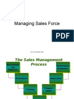 Managing Sales Force