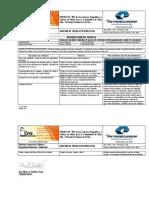 Analisis de Trabajo Seguro - Instalacion Mediante Soldadura de Marco de Estructura de Tubo y Malla Galvanizados