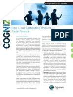 How Cloud Computing Impacts Trade Finance