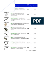 420-560 Air System Parts -1