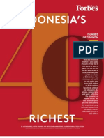Forbes Indonesia Rich List 2011