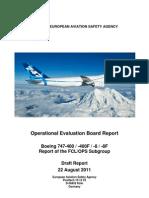 b747 Fcl Ops Draft Oeb Report 22082011