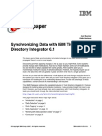 Synchronizing Data With IBM Tivoli Directory Integrator 6.1 Redp4317