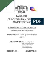 Metodología II - Fundamentos Conceptuales