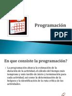 Programación  proyectos slide