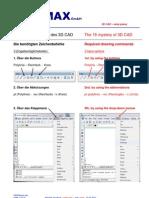 3D CAD Basics