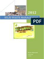 Solid Waste Manage Men 1