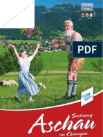 Imagebroschüre Aschau