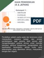 Per Banding An Pendidikan Di Indonesi & Jepang