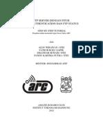FTP Server dengan Fitur LDAP Authentication dan FTP Status