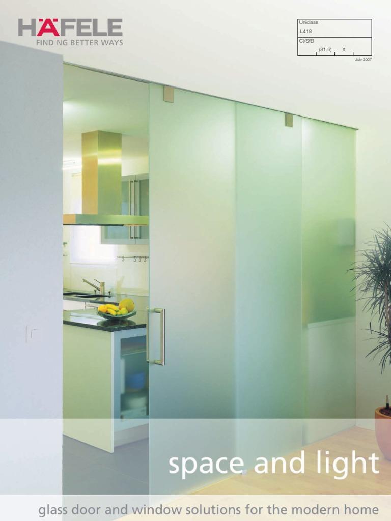 Hafele HUK PDF Space and Light | Door | Window