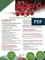 Programa cerecera 2012
