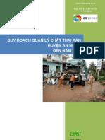 An Nhon - Quy hoạch quản lý chất thải rắn & Kế hoạch hành động