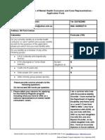 National Register Application Form - New