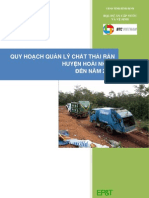 Hoai Nhon - Quy hoạch quản lý chất thải rắn