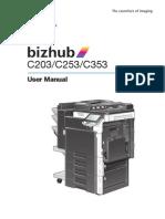 MANUAL Bizhub Color Multi