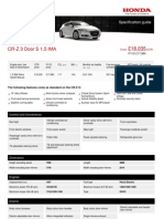 Cr z Full Specification