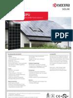 Panneaux photovoltaïques KYOCERA KD