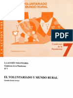 Voluntariado y Mundo Rural