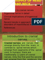 Nerve Supply of Head and Neck