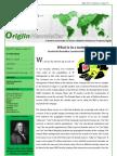 Origiin Newsletter May-2012