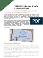 Isola Delle Femmine Le Mani Di Mafia e Politica Nella Metro Di Palermo