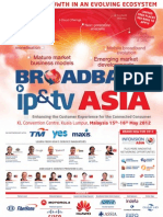 Broadband IPTV Asia 2012 Brochure