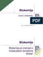 1 - Uvod u biokemiju