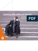 Dealing With Difficult People Power Point