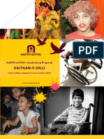 """Proposal for Support in Staging """"DASTAAN-E-DILLI"""" - A Musical Play by Children Celebrating 20 Years of AARTH-ASTHA"""