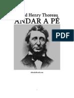 David Thoreau - ANDAR A PÉ