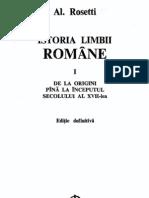 Al. Rosetti - Istoria Limbii Romane