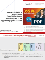 Open-E DSS V6 Asynchronous Data Replication Over a LAN
